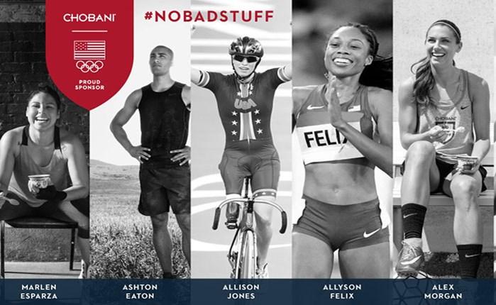 Μεγάλη καμπάνια της Chobani για τους Ολυμπιακούς Αγώνες