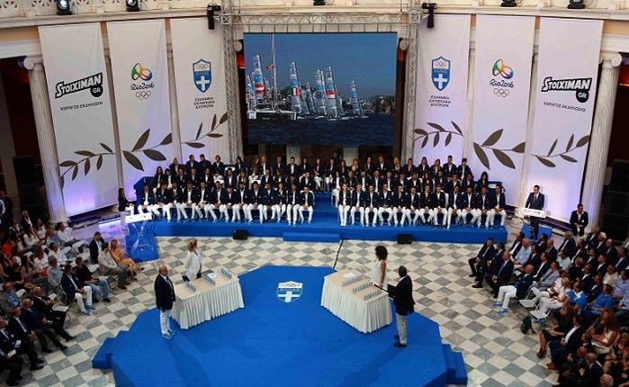 Η ΕΟΕ τίμησε τους Ολυμπιονίκες