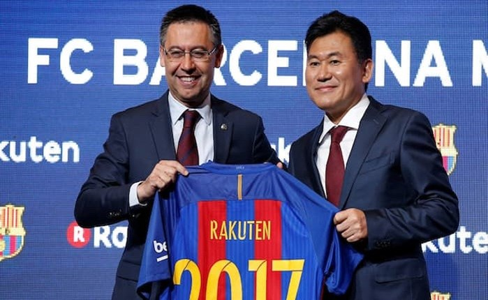 Μεγάλο χορηγικό deal της Barcelona με τη Rakuten