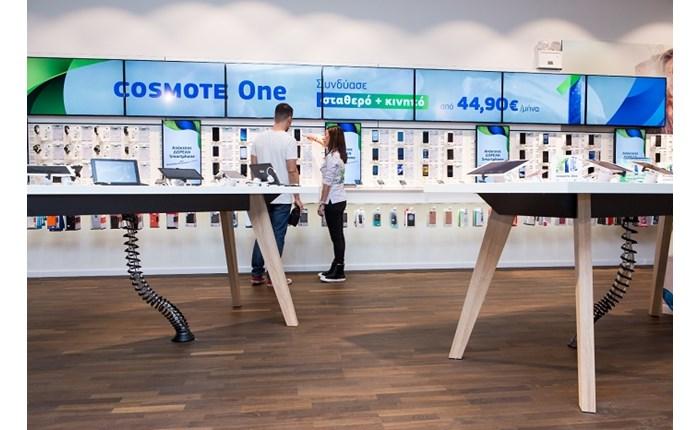 Cosmote: Νέο κατάστημα στο The Mall Athens