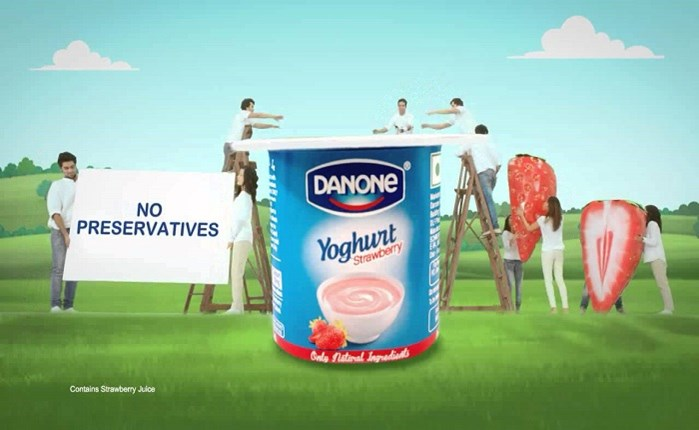 Danone: Δημιουργικό spec για τα γιαούρτια