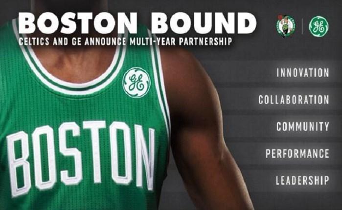 Χορηγική συνεργασία GE με Boston Celtics