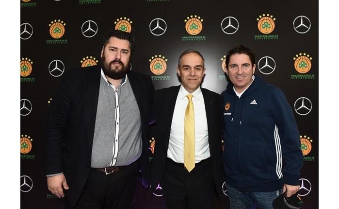 ΚΑΕ Παναθηναϊκός: Επισφράγισε τη συνεργασία με τη Mercedes-Benz Ελλάς