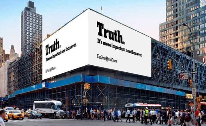 Οι New York Times μπαίνουν στην κουβέντα για την αλήθεια