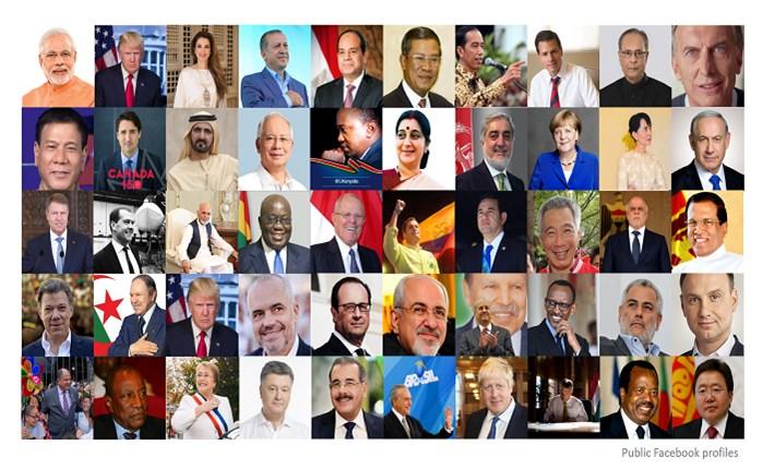 Burson-Marsteller: Έρευνα για τους World Leaders on Facebook το 2017