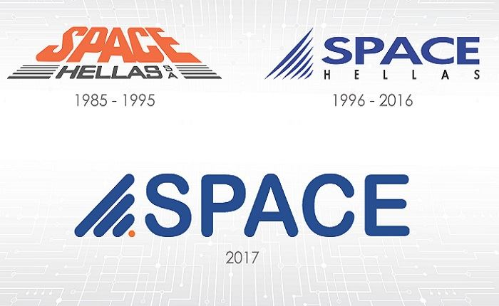 Space Hellas: Νέο λογότυπο κι ανανεωμένη εταιρική ταυτότητα