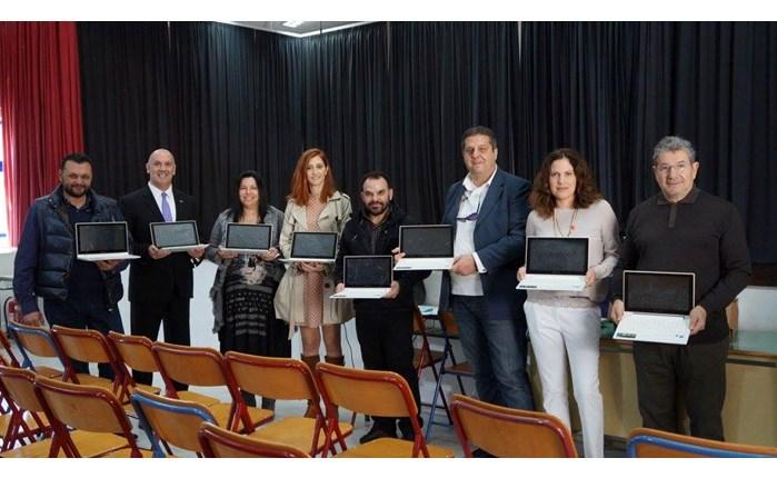 KPMG: Δωρεά φορητών υπολογιστών σε σχολεία