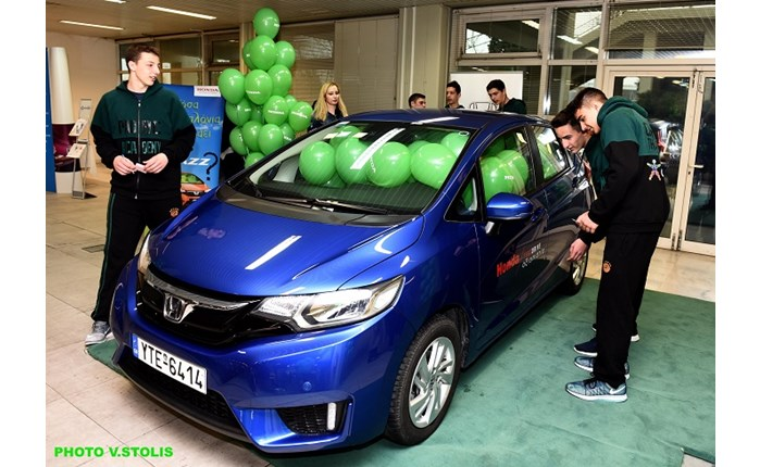 Honda Cars: Χορηγός της Ακαδημίας της ΚΑΕ Παναθηναϊκός