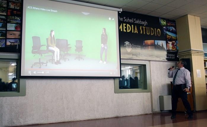 ACS Athens: Απέκτησε media studio