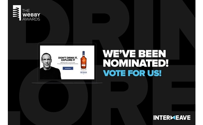 Interweave: Διεκδικεί βραβείο Webby