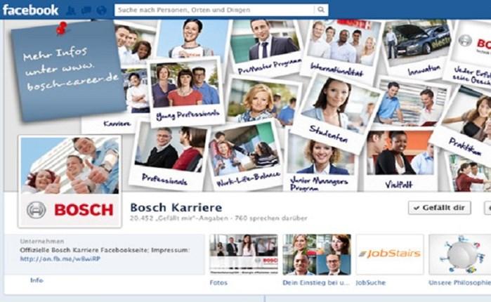 Στην Communication EFFECT η διαχείριση του Facebook της Bosch