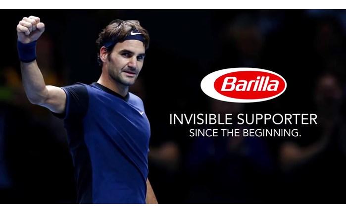 Barilla: Νέος brand ambassador ο Roger Federer
