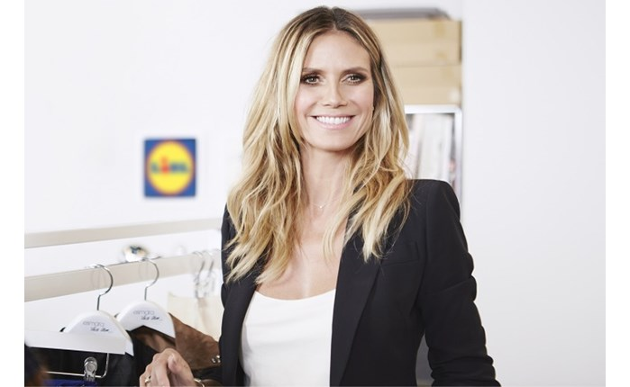 Lidl: Συνεργασία με τη Heidi Klum
