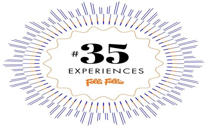 Folli Follie: Επέτειος με 35 Experiences