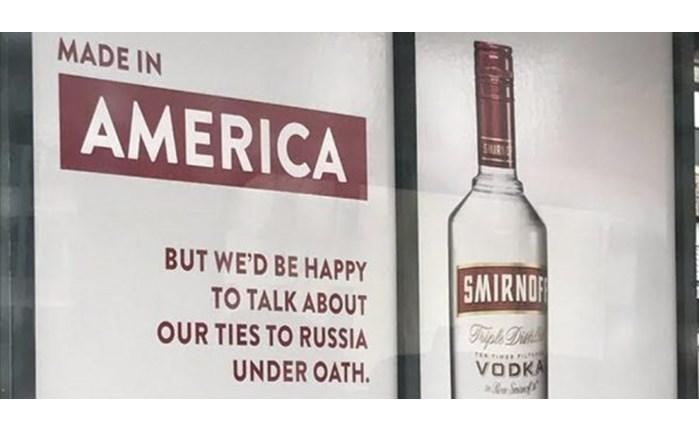 Smirnoff: Διασκεδάζει με τους ισχυρισμούς του Trump περί Ρωσίας