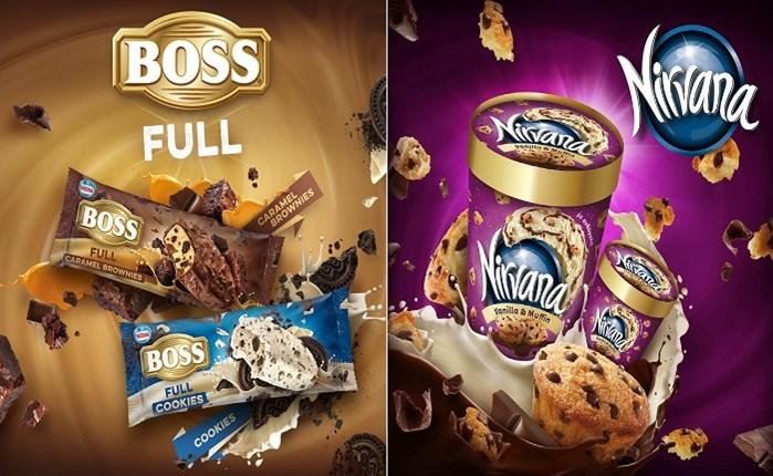 MILK: Συνεργασία με τα παγωτά BOSS και Nirvana