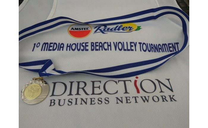 Direction: Διάκριση στο 1ο Beach Volley Media House Tournament by Amstel Radler