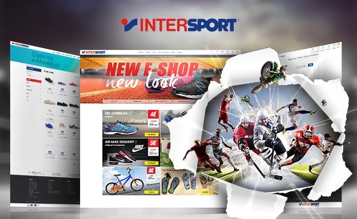 Το νέο E-shop της Intersport από την Lighthouse