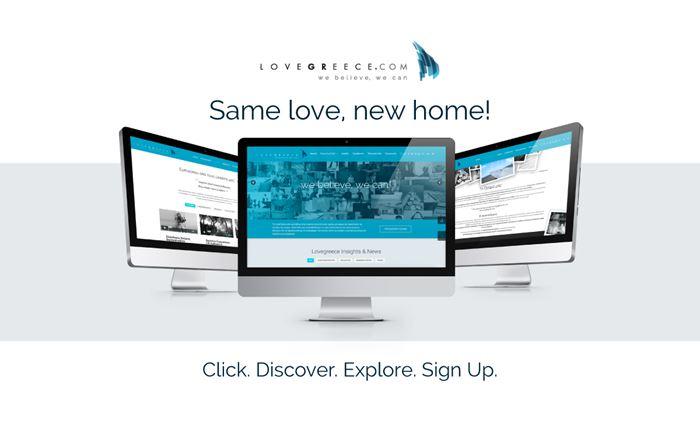 On air η ανανεωμένη σελίδα του LoveGreece από τη DigitalWise
