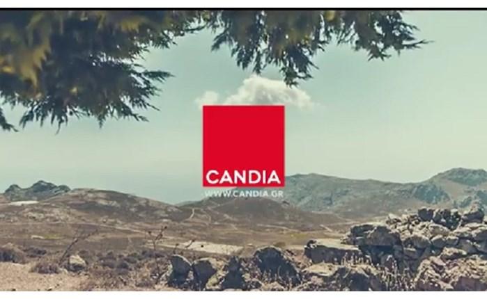 Ανανεωμένο λογότυπο και νέο σποτ από την Candia Strom